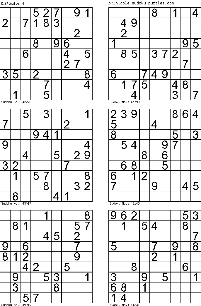 Amazing image inside printable sudoku 6 per page