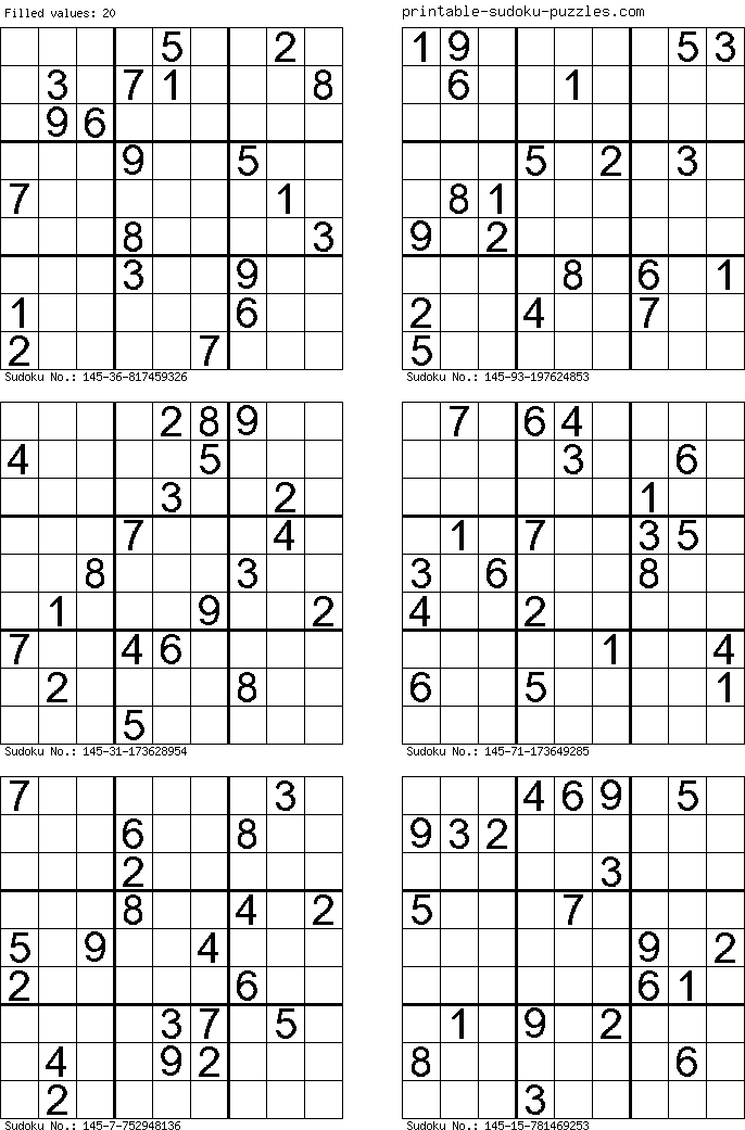 picture regarding Printable Sudoku 4 Per Page known as ImageSpace - 6 Sudoku Printable Puzzles For every Site