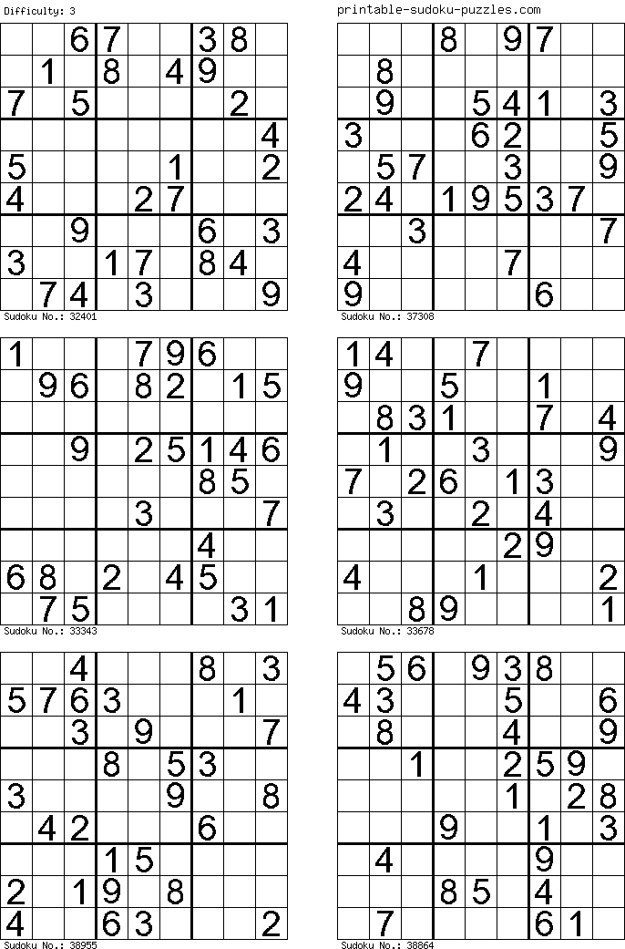 photo relating to Mega Sudoku Printable called Cost-free Printable Sudoku Puzzles