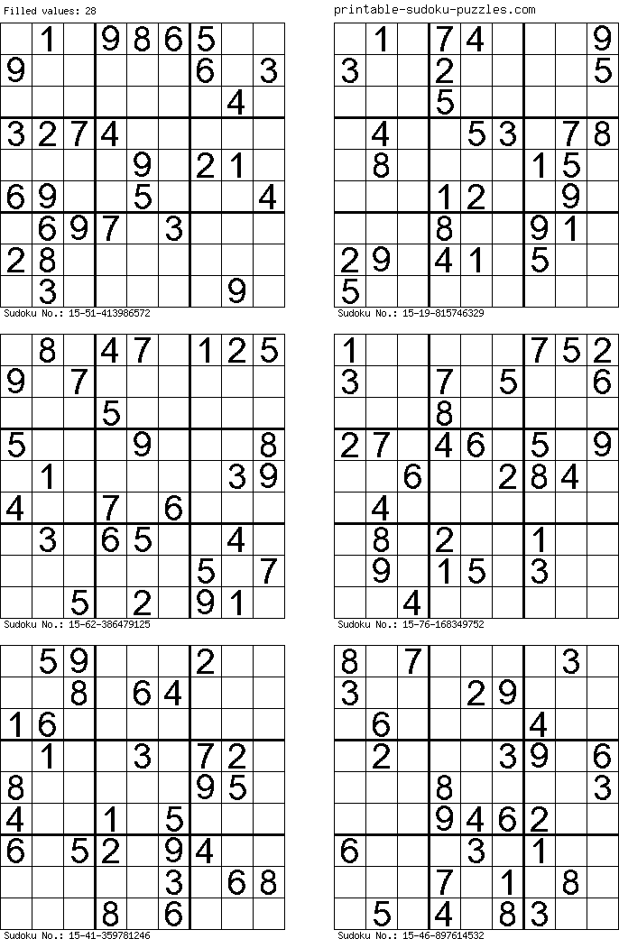 image relating to Mega Sudoku Printable titled No cost Printable Sudoku Puzzles