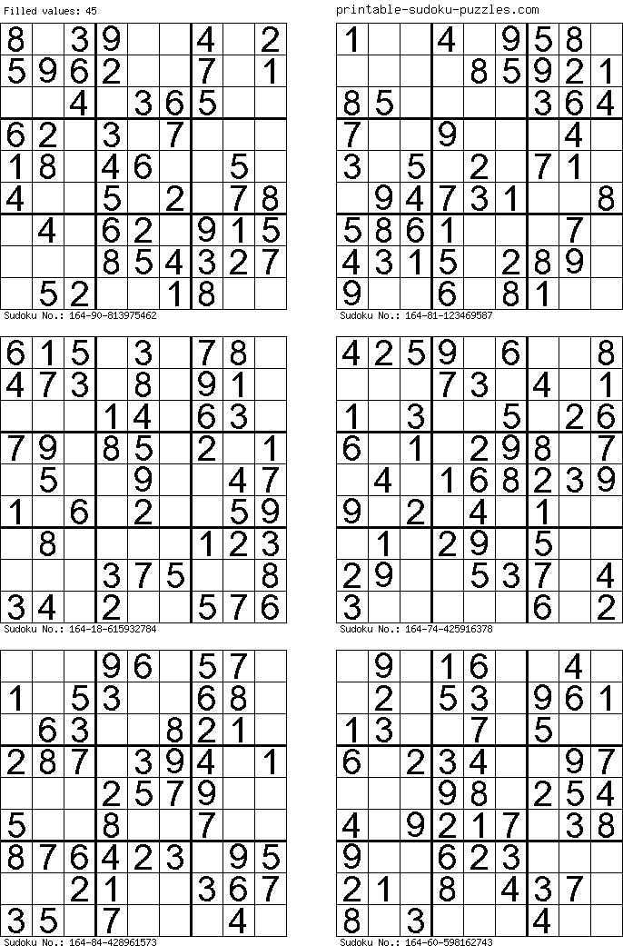 It is a picture of Printable Sudoku 4 Per Page with regard to free printable